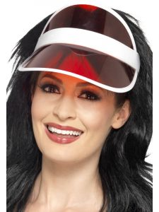 Comic Relief - Red Visor Hat