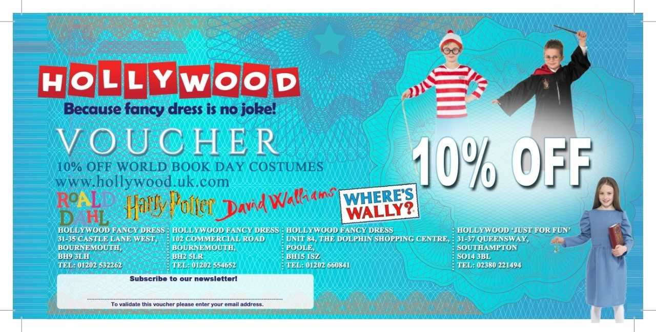 World Book Day - Back Voucher
