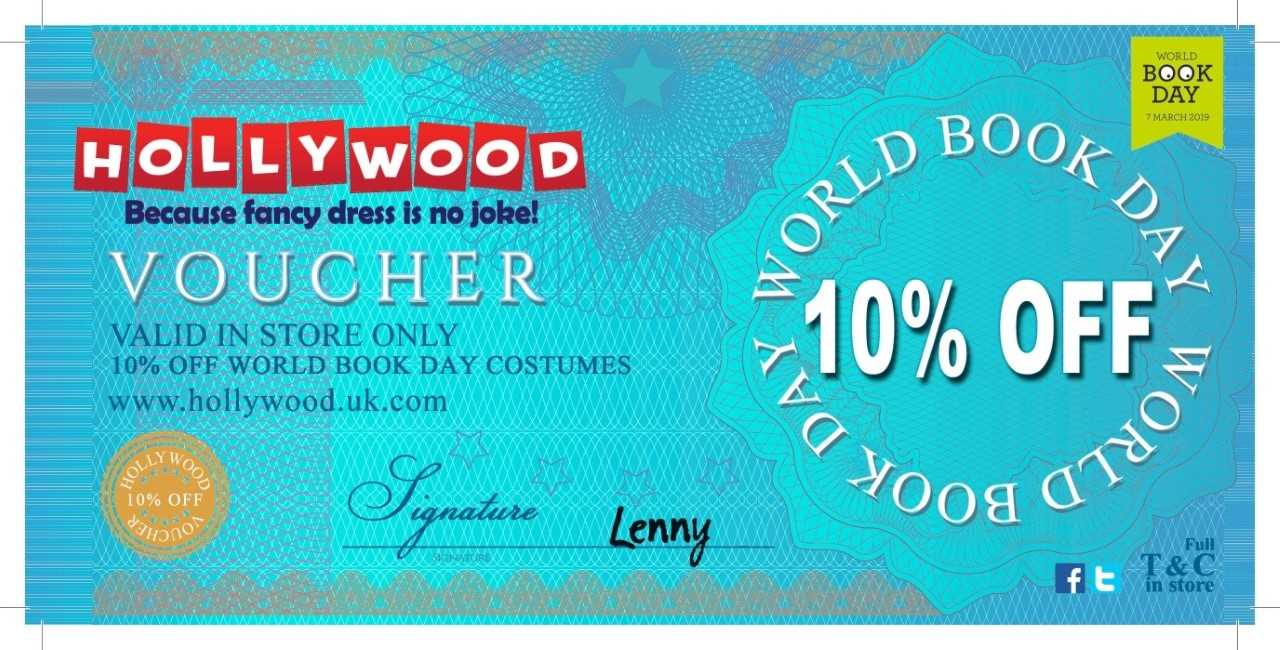 World Book Day Voucher - Front