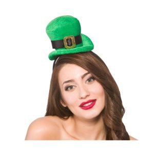 St Patrick's Day Mini Hat by Hollywood Fancy Dress