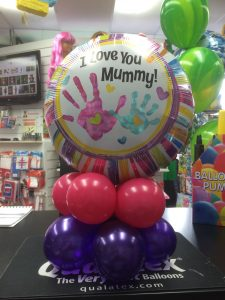 Love you Mummy Balloon by Hollywood Fancy Dress