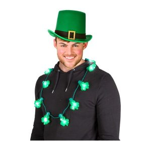 St Patrick's Day Necklace by Hollywood Fancy Dress