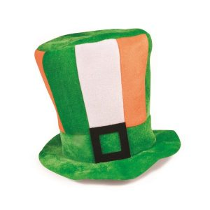 St Patrick's Day Hat by Hollywood Fancy Dress