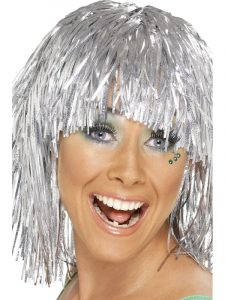 Silver Cyber Wig - Bournemouth 7s