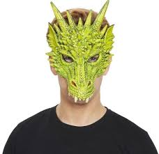 Green Dragon Mask | St Georges Day