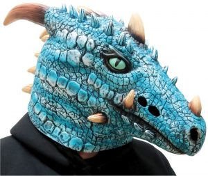 Ice Dragon Mask | St Georges Day