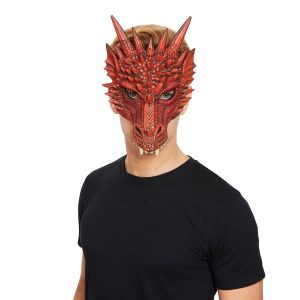 Red Dragon Mask | St Georges Day