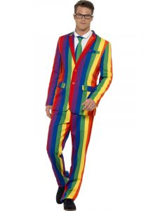 Rainbow Stand Out Suit - Bourne Free