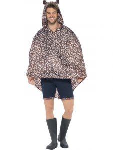 Leopard Poncho - Glastonbury