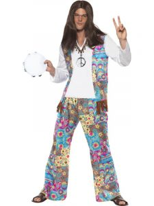 Groovy Hippie Costume - Isle of Wight Festival