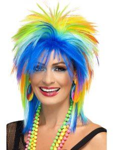 Rainbow Punk Wig - Bourne Free