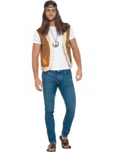Mens Hippie Vest - Isle of Wight Festival
