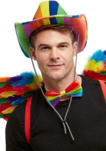 NEW Rainbow Sash Smiffy/'s Pride Party Festival Fancy Dress Accessories