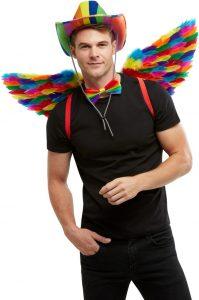 Rainbow wings - Bourne Free