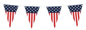 USA Bunting II - Independence Day