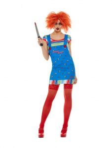 Ladies Chucky Costume | Horror Movies 2019