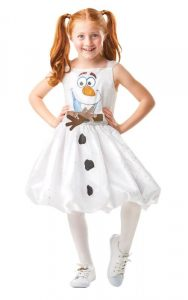 Girls Olaf Costume | Frozen II