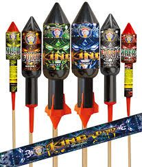 King Dom Rockets | New Years Fireworks
