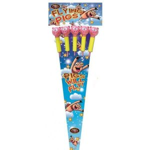 Flying Pigs Rockets | New Years Fireworks