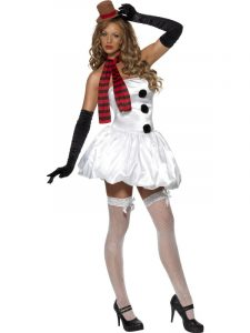 Ladies Fever Snowman Costume | Christmas 2019