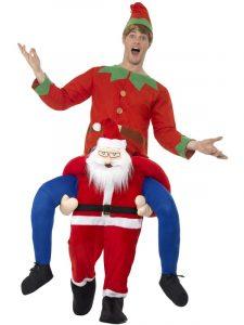 Santa Piggyback Costume | Christmas 2019