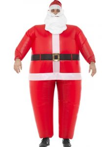 Mens Inflatable Santa Costume | Christmas 2019
