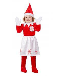 Girls Elf on the Shelf Costume | Christmas 2019