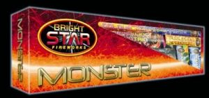 Monster Selection Box | New Years Fireworks