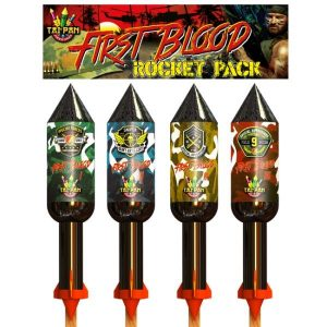 First Blood Rockets | New Years Fireworks