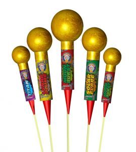 The Nuts Rockets | New Years Fireworks