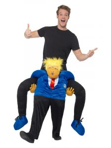Trump Piggyback Costume | Brexit 2020
