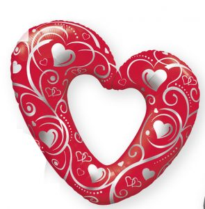 Heart Foil Balloon | Valentines Day 2020