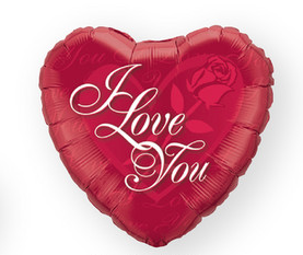 I Love You Foil Balloon | Valentines Day