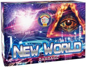 New World Firework | Hollywood UK