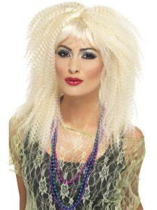 Crimped Wig