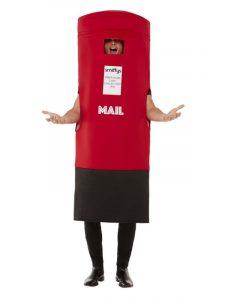 Post Box Costume | Back soon