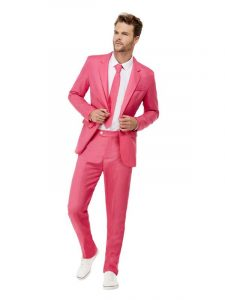 Pink Stand Out Suit | Back soon