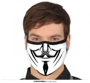 V for Vendetta Facemask | Halloween 2020