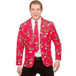 Reindeer jacket and tie | Christmas