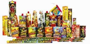 Mardi Gras Selection Box New Years Eve Fireworks.