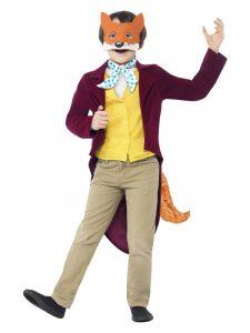Boys Mr Fox Costume.