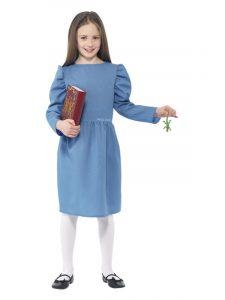 Girls Matilda Book Day Costume