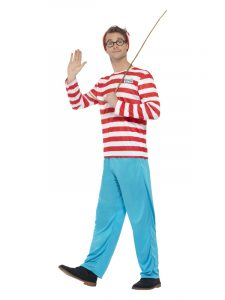 Mens Where's Wally Book Day Costume
