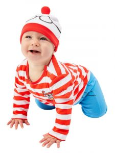 World Book Day Where's Wally Baby Costume