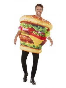 Burger BBQ food costume