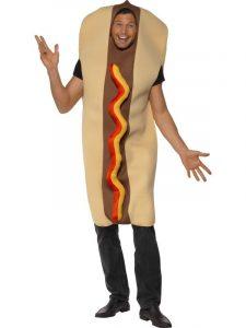 Summer fun hotdog BBQ costume.