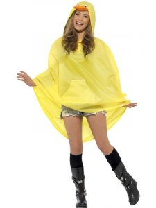 We are back duck party poncho
