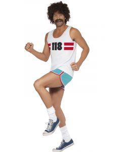 Summer of Sport running tennis man