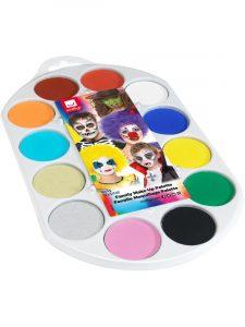 Camp bestival face paint pallett