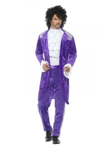 Freedom Day Purple Musician Costume